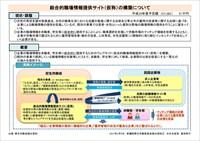 総合的職場情報提供サイトの構築について